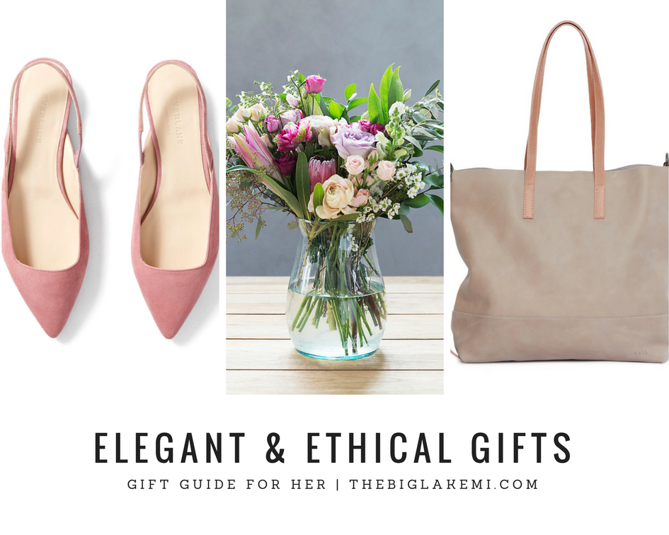 Elegant Ethical Gift Guide For Her